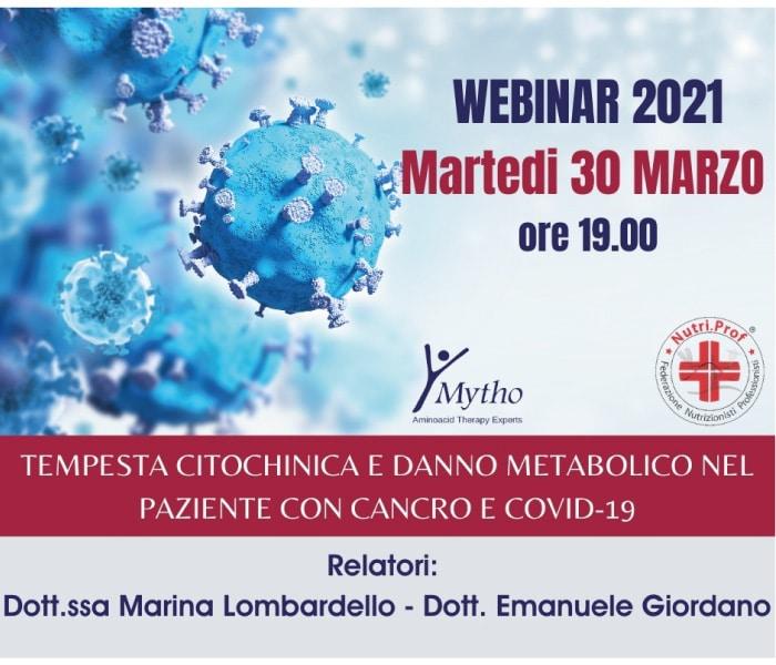 Webinar 30 Marzo 2021