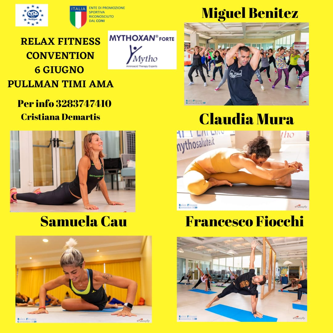Relax Fitness Convention